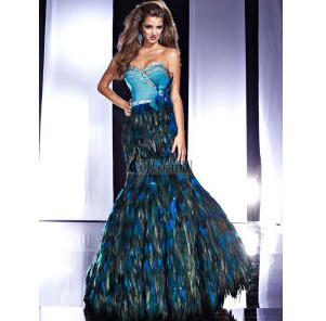 Panoply Prom Evening Dress Peacock